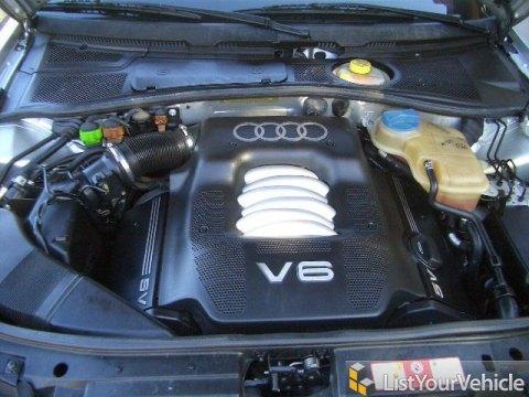 2001 Audi A4 2.8 quattro Avant in Light Silver Metallic