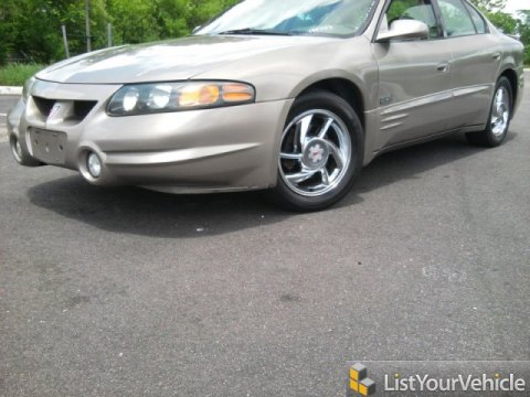 2001 Pontiac Bonneville SLE in Light Bronzemist Metallic