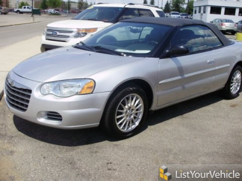 2004 Chrysler Sebring GTC Convertible in Bright Silver Metallic