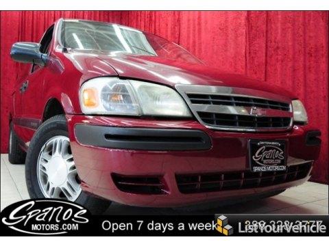 2004 Chevrolet Venture LS in Sport Red Metallic