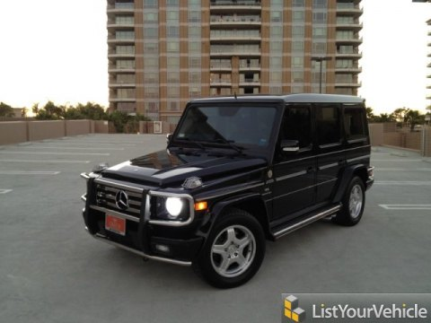 2005 Mercedes-Benz G 55 AMG Grand Edition in Black