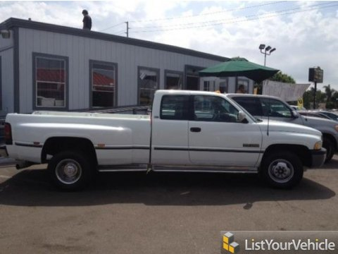 1996 Dodge Ram 3500 ST Extended Cab Dually in Stone White