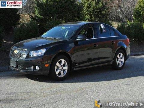 2012 Chevrolet Cruze LT/RS in Black Granite Metallic