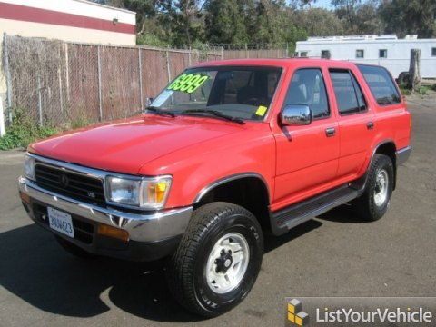 1995 toyota 4runner sr5 v6 4x4 archived freerevs com used cars and trucks for sale free car ad 70027981 freerevs com