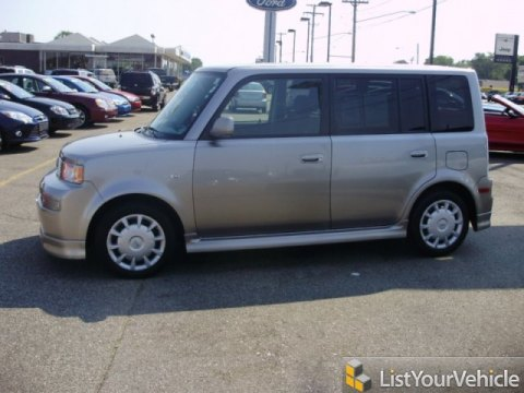 2005 Scion xB  in Thunder Cloud Metallic