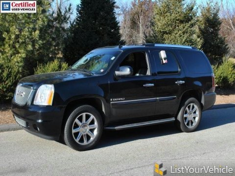 2008 GMC Yukon Denali AWD in Onyx Black