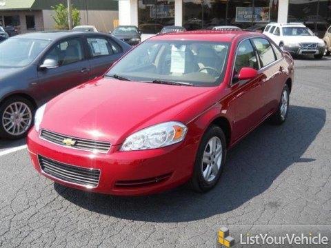 2008 Chevrolet Impala LS in Precision Red