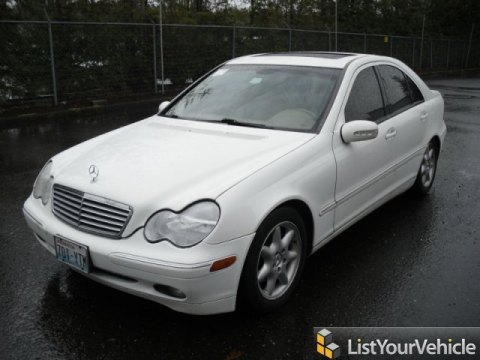 2002 Mercedes-Benz C 240 Sedan in Alabaster White