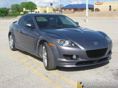 2006 Mazda RX-8  in Galaxy Gray Mica