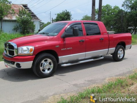 2006 Dodge Ram 1500 SLT Mega Cab in Flame Red