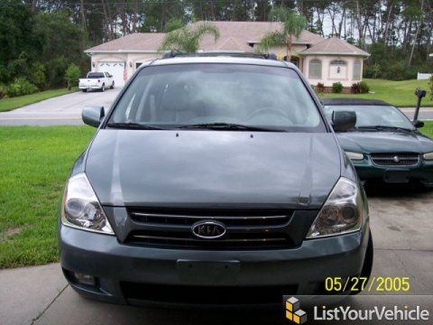 2008 Kia Sedona LX in Olive Gray Metallic