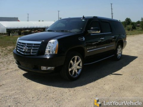 2007 Cadillac Escalade ESV in Black Raven
