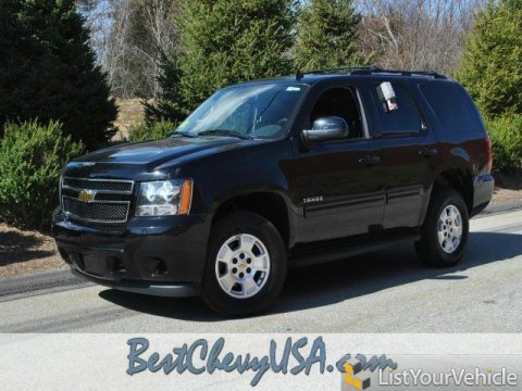 2011 Chevrolet Tahoe LS 4x4 in Black