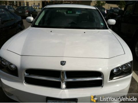 2010 Dodge Charger Rallye in Stone White