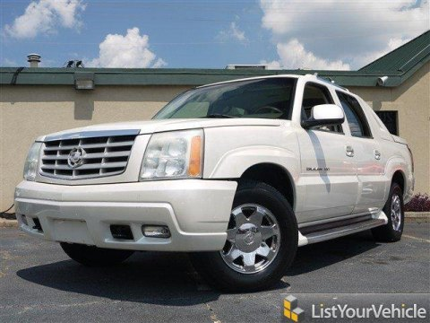 2002 Cadillac Escalade EXT AWD in White Diamond