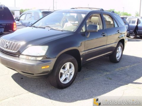 2003 Lexus RX 300 AWD in Black Onyx