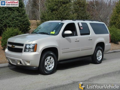 2011 Chevrolet Suburban LT 4x4 in Gold Mist Metallic