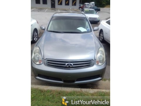 2005 Infiniti G 35 x Sedan in Diamond Graphite Metallic