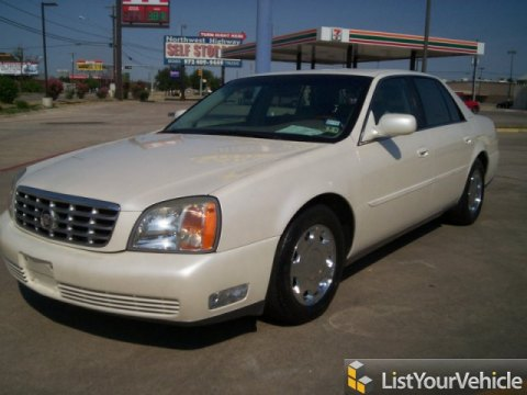 2000 Cadillac DeVille DHS in White Diamond
