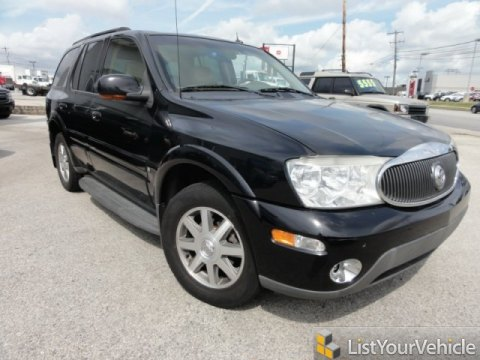 2004 Buick Rainier CXL AWD in Black
