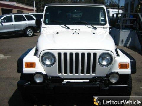 2003 Jeep Wrangler Rubicon 4x4 in Stone White