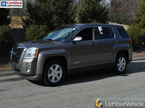 2010 GMC Terrain SLE in Cyber Gray Metallic