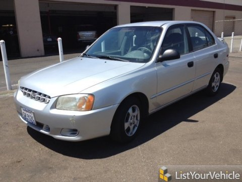 2002 hyundai accent gl sedan archived freerevs com used cars and trucks for sale free car ad 70048055 freerevs com