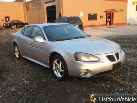 2004 Pontiac Grand Prix GTP Sedan in Galaxy Silver Metallic