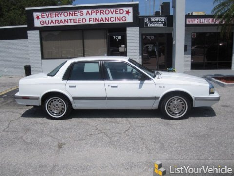 1996 Oldsmobile Cutlass Ciera SL Sedan in White