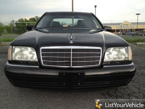 1999 Mercedes-Benz S 320 Sedan in Obsidian Black Metallic