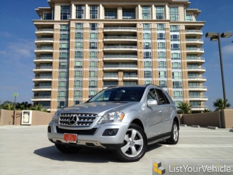2009 Mercedes-Benz ML 350 4Matic in Iridium Silver Metallic