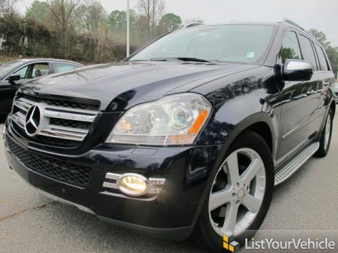 2009 Mercedes-Benz GL 450 4Matic in Capri Blue Metallic