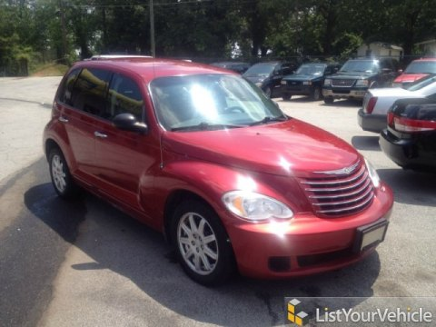 2007 Chrysler PT Cruiser Touring in Inferno Red Crystal Pearl