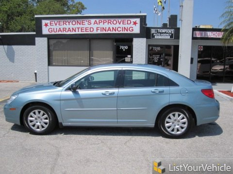 2009 Chrysler Sebring LX Sedan in Clearwater Blue Pearl