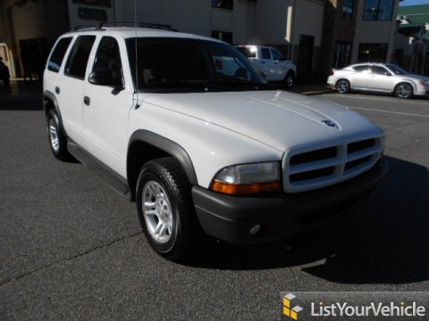 2003 Dodge Durango SXT in Bright White