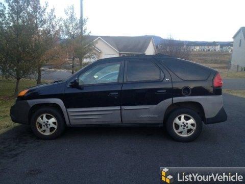 2001 Pontiac Aztek AWD in Black