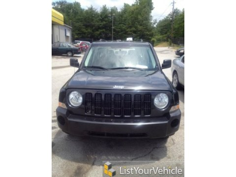 2008 Jeep Patriot Sport in Brilliant Black Crystal Pearl