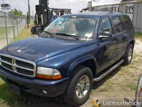 2003 Dodge Durango SLT in Patriot Blue Pearlcoat