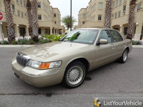 2000 Mercury Grand Marquis LS in Harvest Gold Metallic
