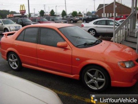 2003 Mazda Protege MAZDASPEED in Spicy Orange