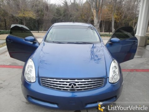 2006 Infiniti G 35 Coupe in Athens Blue Pearl Metallic