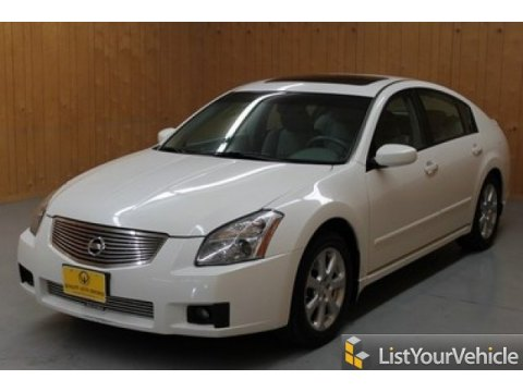 2007 Nissan Maxima 3.5 SL in Winter Frost Pearl