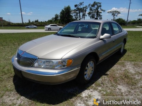 2000 Lincoln Continental  in Light Parchment Gold Metallic