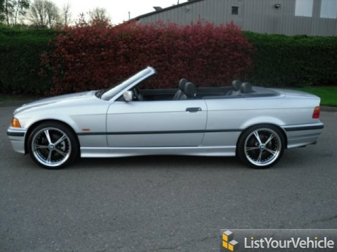 1999 BMW 3 Series 323i Convertible in Titanium Silver Metallic
