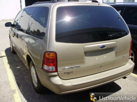 1999 Ford Windstar LX in Harvest Gold Metallic