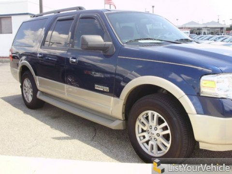 2007 Ford Expedition EL Eddie Bauer 4x4 in Dark Blue Pearl Metallic