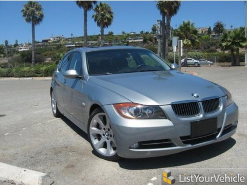 2007 BMW 3 Series 335i Sedan in Jet Black