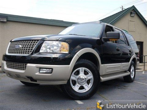 2006 Ford Expedition Eddie Bauer in Black