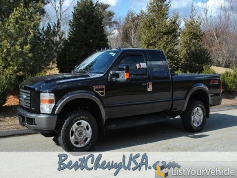 2008 Ford F350 Super Duty FX4 SuperCab 4x4 in Black