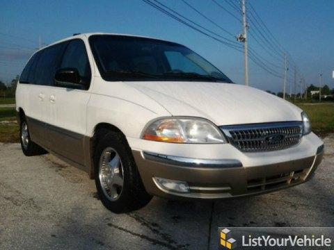 2000 Ford Windstar SEL in Vibrant White